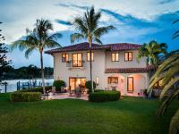 Oh the views! This renovated Mediterranean two story,