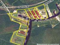 Five large lots ranging from 29 to 86 acres. Very