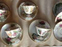 Mixed Lot of Tea Cups & Sauces most of the tea cups &