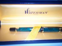 Waterman fountain pen. Brand new in the box. Unused. I