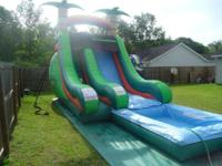Commercial grade water slides WITH POOL,combo units and