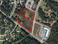 The property is 5.03 acres of land that is located in