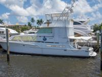 WAVE DANCER is a beautiful, factory extended 54 Bertram