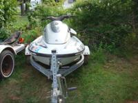 2000 Yamaha 800, 2 Seats with a 2000 Trailer. The
