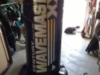 Wavemaster heavy bag for sale.  Base holds 200 lbs of