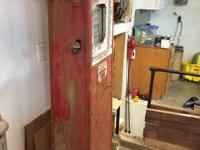 Offering my unrestored Wayne 40A gas pump. Has repo