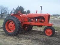 I have a Allis ~ Chalmers WD45 narrow front Tractor ,