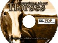 Everything About Horses Over 200 eBooks on Data DVD