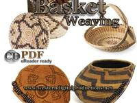 Basket Making for All Levels ~ 50 Vintage Books on CD