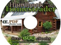 Handbook for the Homesteader This Data DVD contains