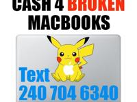 We buy broken MacBooks for cash Maryland College Park