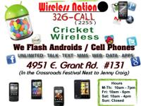 At Wireless Nation we buy all types of cell phones and