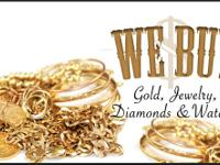 WE BUY GOLD AND PAY LEADING BUCK. GOLD COINS, GOLD