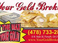 ? We pay top dollar for your gold and silver,even if it