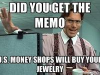 Bring us your unwanted precious jewelry and get TOP