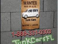 We buy junk cars Orlando, Junk car removal for cash