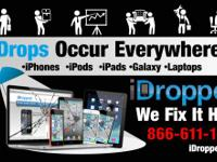 iDropped changes damaged screens and repair services