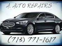 A. AUTO REPAIRS IS HERE TO HELP YOU WITH ALL YOUR AUTO