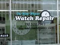 Watch repairs! Electric batteries, crystals, buffing,