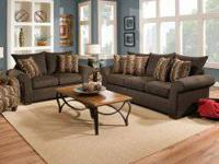 Banner Bark Sofa and Love Seat for ONLY $998.00.