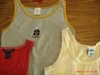 We have 8 tank Tops Total They are gently used ... no