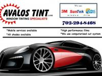 =NOW OFFERING MOBILE WINDOW TINT SERVICES=