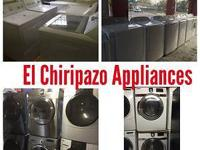 SALES AND REPAIRS Stoves, refrigerators. washers &