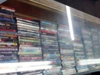 We have cases complete of DVD's & Blu-Ray's in stock.