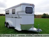 We offer the largest IN STOCK trailer selection in the