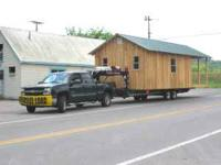 We can move storage sheds, buildings, and some cabins.