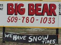 Big bear has been here for over 30 years we decided not