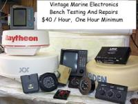We Repair All Types Of Marine Electronics. All Brands,