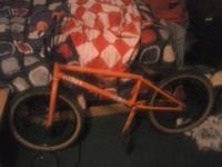 hi i have a really nice we the folks bmx bike for sale.