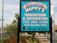 """WE 'VE GOT OUR SHIFT TOGETHER"". Hoppy's Transmission &"