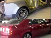 S&M AUTO BODY PROVIDES:. -Auto Body Damages repair