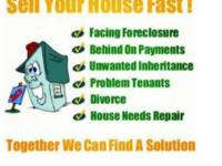 Let US buy your property fast for cash or terms in