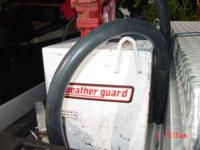 Weather Guard 90 gallon transfer tank with Fillrite 20