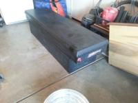 Full size weather guard Tool box black diamond plate