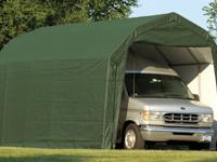 ��Weather-Shield Portable Garage Shelter� Barn Roof