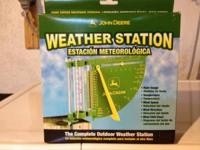 John Deere Weather Station new in box, was purchased to
