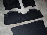Weather Tech floor liners: is a complete set