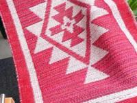 Weaving- Native style design, hand-made, acrylic yarn -