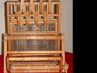 "For sale: 18"" wide , 8 shaft table top weaving loom"
