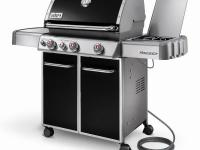New for 2011, the Genesis E-330 grill features a Sear