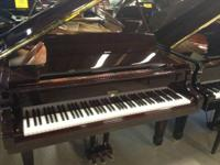piano description::::  Weber pianos are manufactured by
