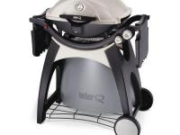 The Weber Q 320 2-Burner Portable Gas Grill is a