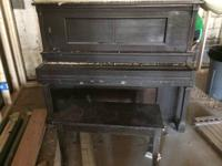 Upright Weber Piano. If you want to use it, needs a