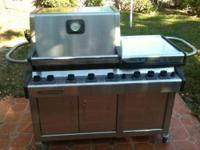 "Weber Vieluxe 44"" Super Premium Stainless Steel Gas"