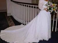 I have a beautiful wedding dress for sale. It has been