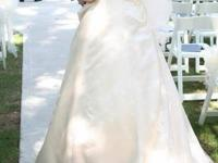 MUST GO SOON !!! WEDDING Dress for sale. (size 10-12)